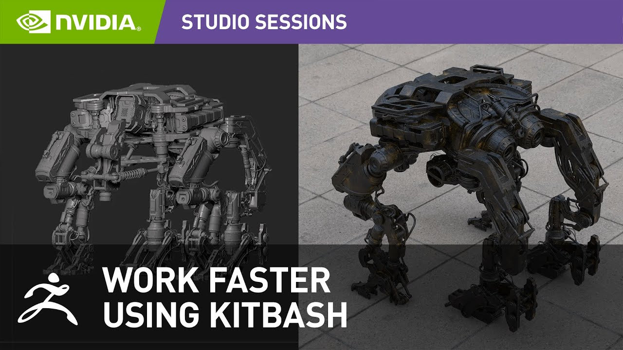 Dramatically Speed-Up Your Concept Design Workflow using KitBash in ZBrush w/ Mark Chang