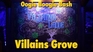 Villains Grove Walkthrough at Oogie Boogie Bash | Disney California Adventure