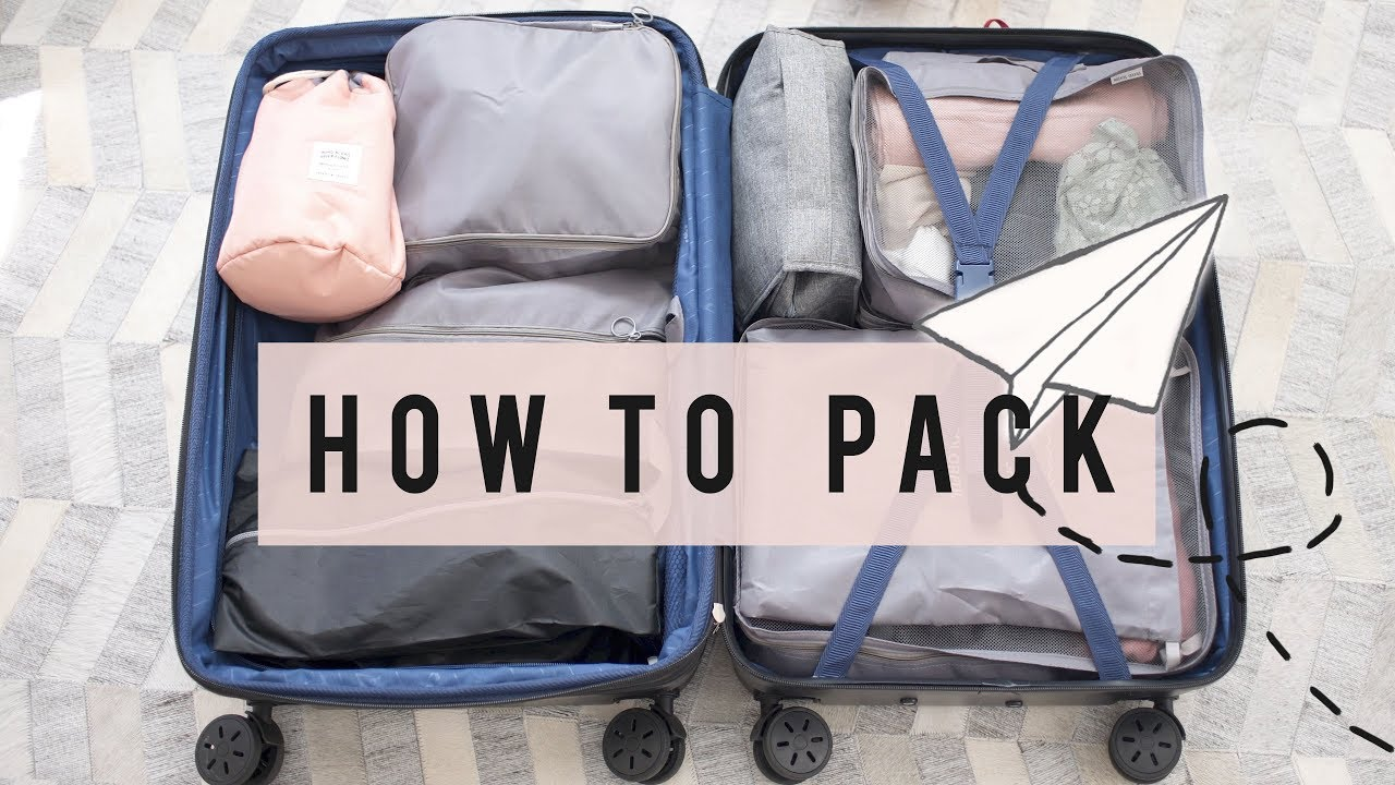 Travel Tips On How To Pack Light Ann Le