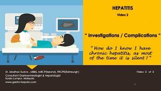 HEPATITIS - Investigations & Complications