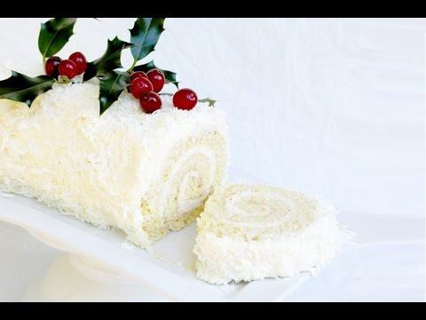 Ricetta Tronchetto Di Natale Al Cioccolato Bianco.Rotolo Al Cioccolatoe Cocco Ricetta Semplice E Gustosa