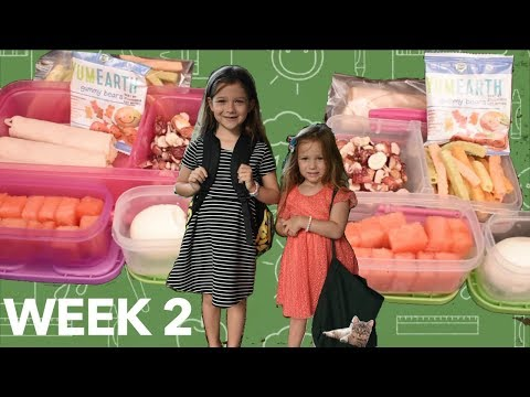 🍎🍉Week 2 of School Lunches!! + What They Ate! Most Exciting Video EVER!! !