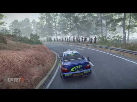 DiRT 4 - Subaru Impreza WRC 2001 - Spain, Career mode (chase cam replay)