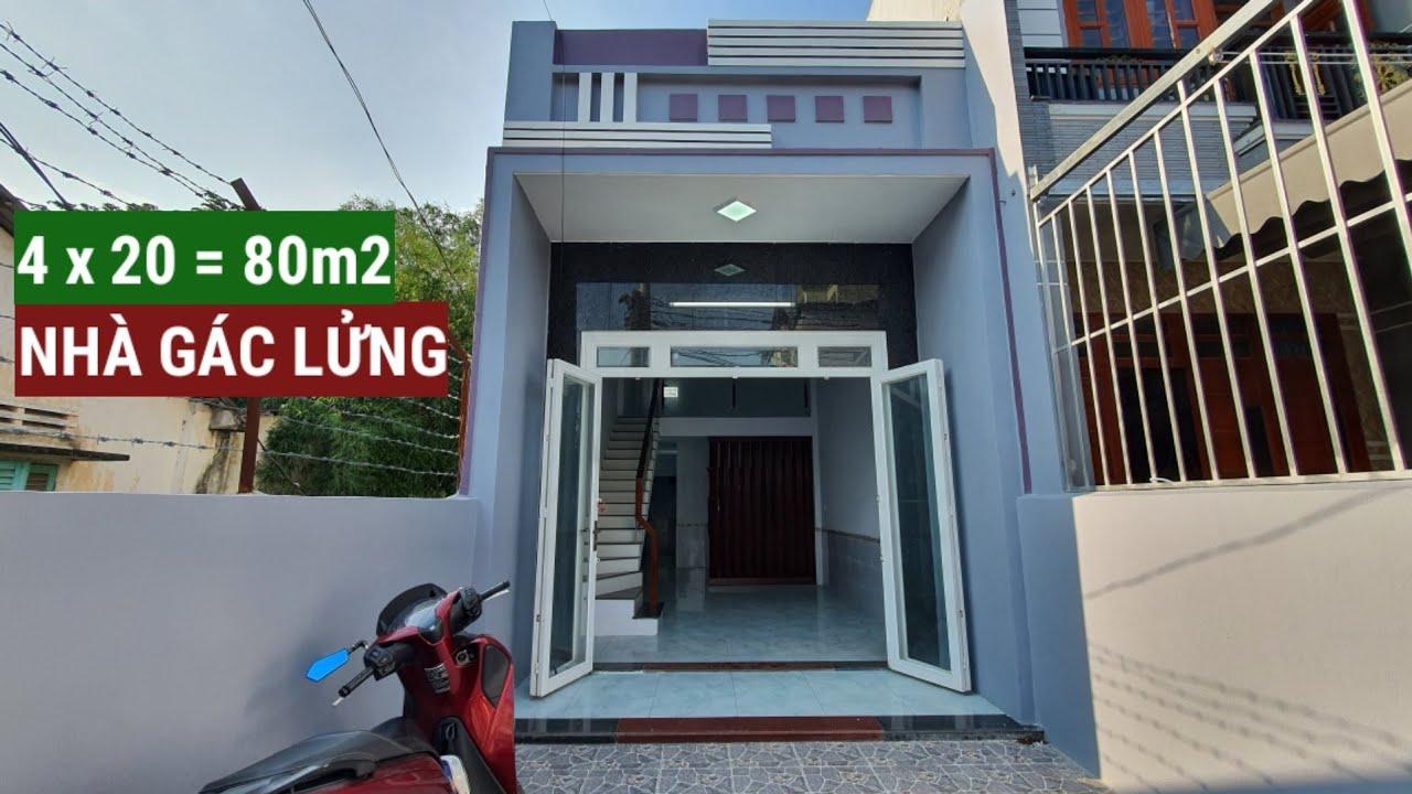 Nếu xây nhà GÁC LỬNG 4x20 bạn nên xem ngôi nhà này - Nhà bán Dĩ An Bình Dương