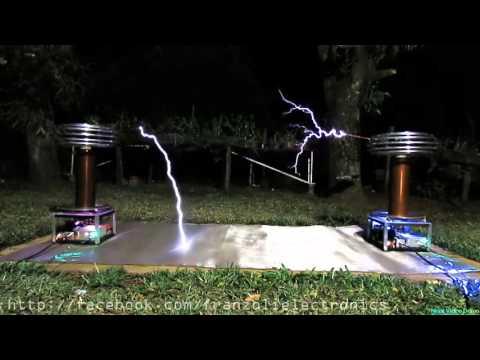Beethoven - Symphony No.9 On Musical Tesla Coils