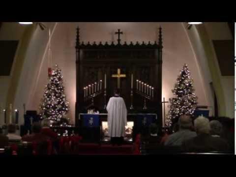 Holy Cross Lutheran Church of Davenport: A German Christmas Service