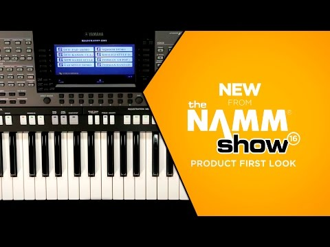 NAMM 2016 - Yamaha PSRA3000 61-Key Arranger Keyboard