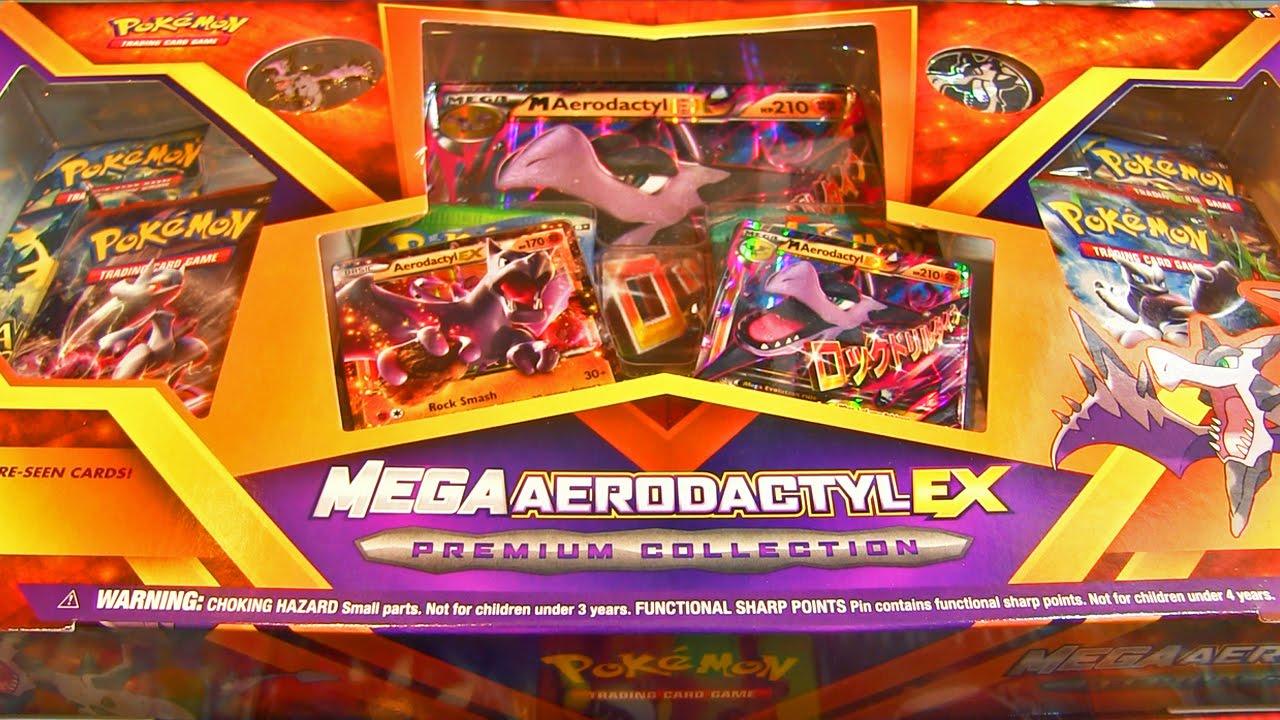 Ouverture d 39 un mega coffret pok mon mega ptera ex box gigantesque pack box opening youtube - Pokemon ptera ...
