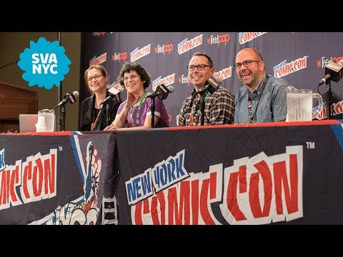 SVA presents Rebecca Sugar, Phil Rynda, & Mike Roth in Creating A Career In Animation - NYCC 2017