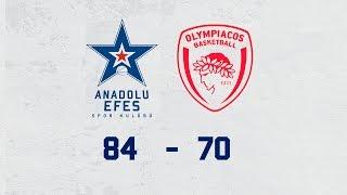 Maç Özeti | Anadolu Efes – Olympiacos
