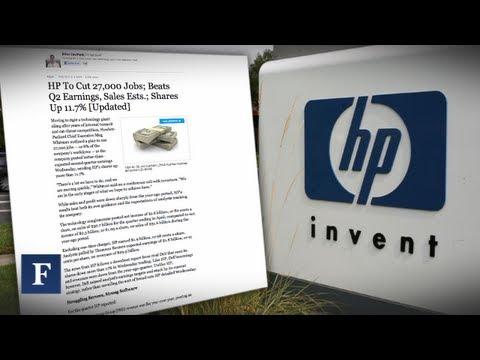 HP Guts 27,000 Staffers; Greek Exit Talks Gutting Euro