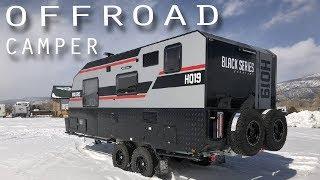 THE BEST OFFROAD CAMPER TRAILER - Black Series HQ19 Caravan Walk Thru