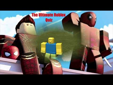 Doing The Ultimate Roblox Quiz For Robux Answers The Ultimate Roblox Quiz Quizdiva The Roblox Quiz For Robux Youtube