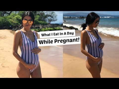 What I EAT In A Day: While Pregnant 🤰