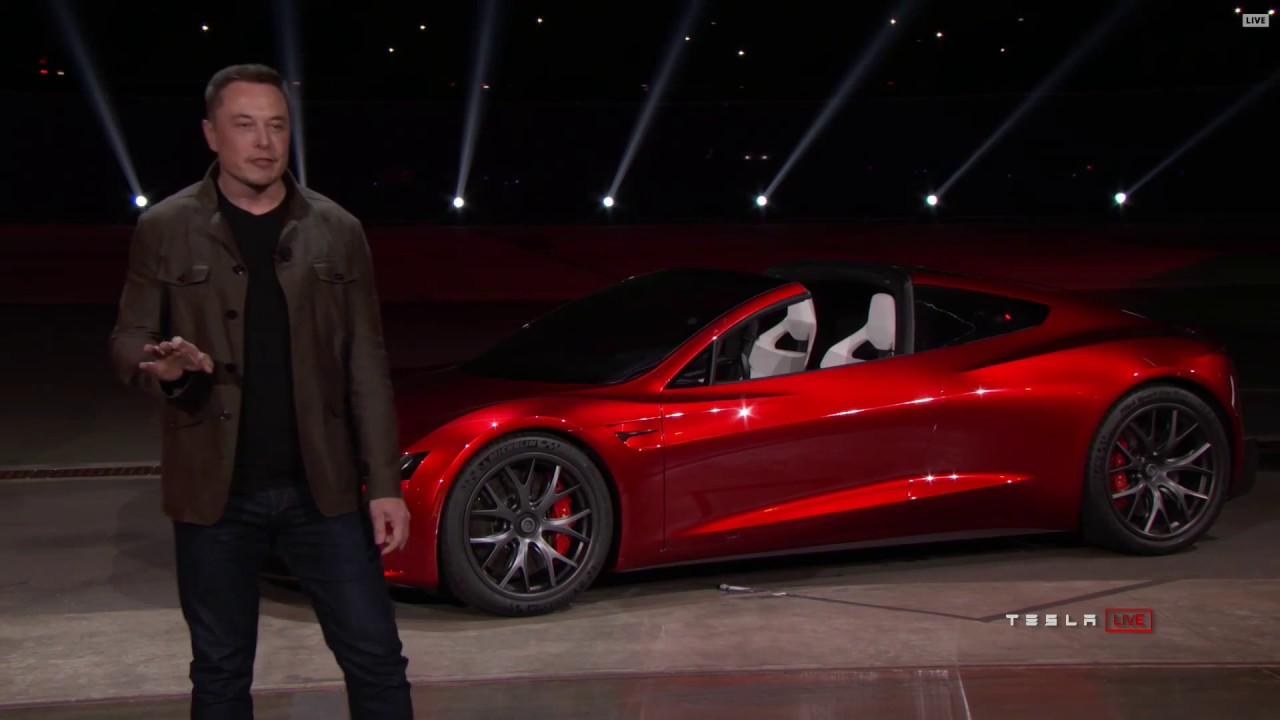New Tesla Roadster 2020 Unveiled By Elon Musk 2017 11 16 Full Hd