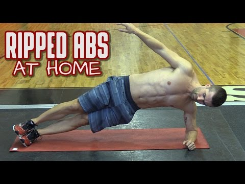 Best Six Pack Abs Exercises for Men at Home