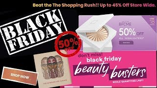 LIVESTREAM: HUGE Black Friday Makeup Haul! Ulta, Sephora, Indie Brands and More!!!