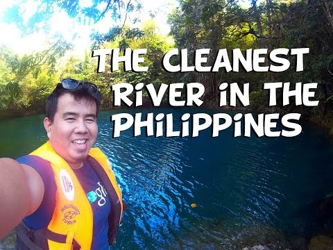 The Cleanest River in the Philippines Malumpati Cold Spring