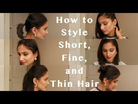 6 Heatless Hairstyles for Fine Short Hair