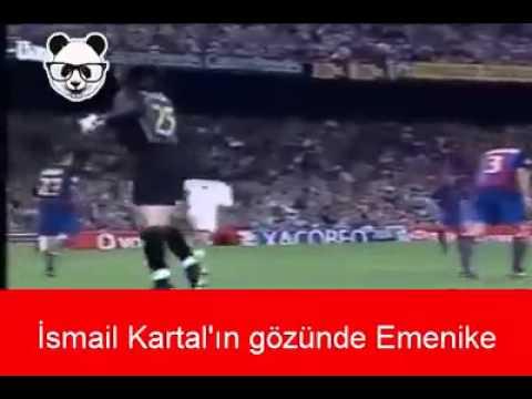 Galatasaraylılar'ın gözünde Emenike  İsmail Kartal'ın  :D