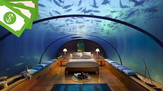 7 Most Expensive Hotels in the World   SUBMARINE HOTEL!