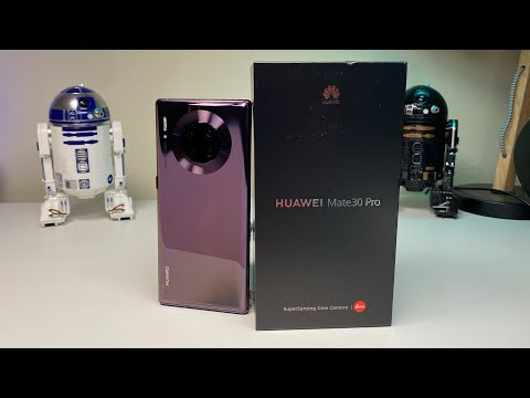 Huawei Mate 30 Pro Unboxing And Setup