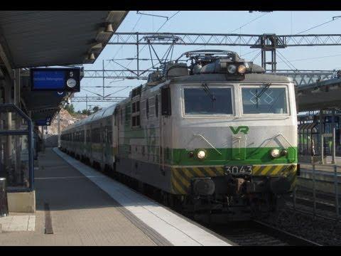 Finland:  VR Class Sr1 locomotive hauled Helsinki area commuter services seen at Riihimaki & Pasila