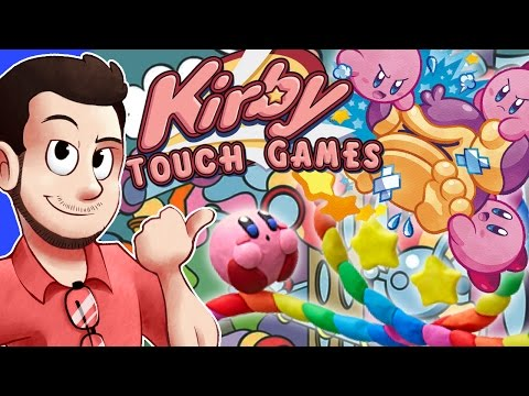 MORE Kirby Spin-Offs: Touch Games - AntDude