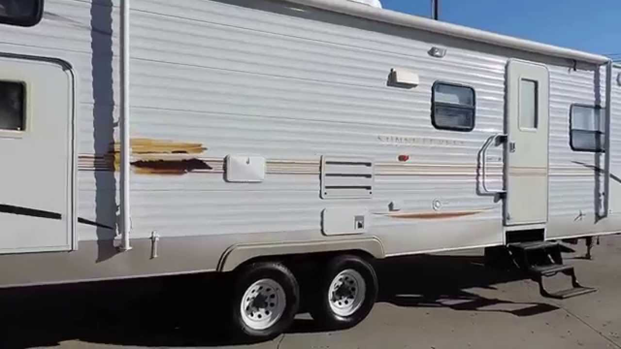Nice Big 33 2007 Sunset Creek 298bh 1 Slide 4 Bunks