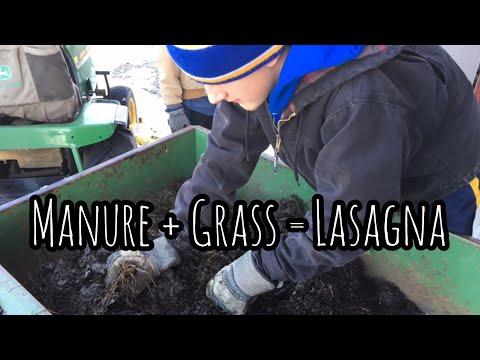 He makes a Mean Compost   How to Make Compost with an Open Pile System