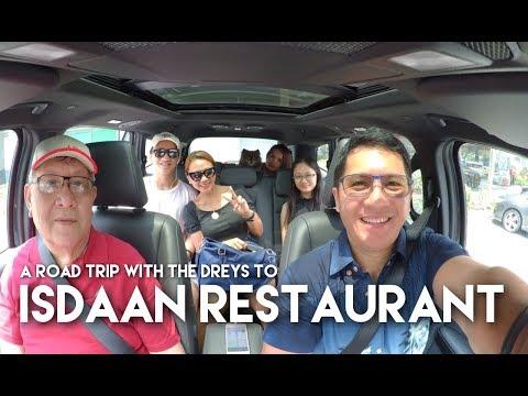 A roadtrip with The Dreys to Isdaan Restaurant in Nueva Ecija