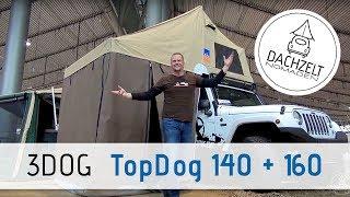 Dachzelt Vorstellung: 3DOG TopDog 140 & TopDog 160