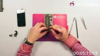 Замена нижнего шлейфа на iPhone за 10 минут