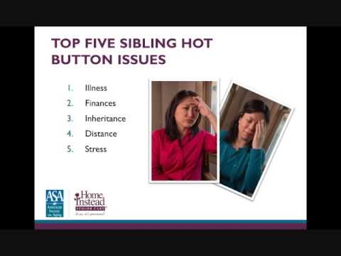 Solving Communication Issues Within Families - Professional Caregiver Webinar