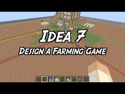 101 Ideas for Minecraft Learners - Seven - Design & Build a Farm game