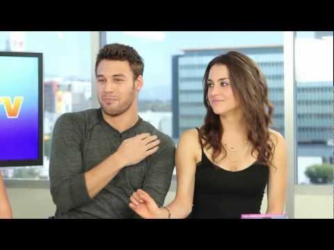 Ryan Guzman & Kathryn McCormick Step Up Revolution DVD Release