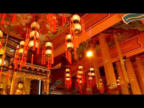 Inside Po Lin Monastery, Lantau Island, Hong Kong