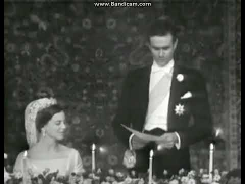 Royal Wedding of Queen Margrethe II and Prince Consort Henrik 1967 Part 4   YouTube