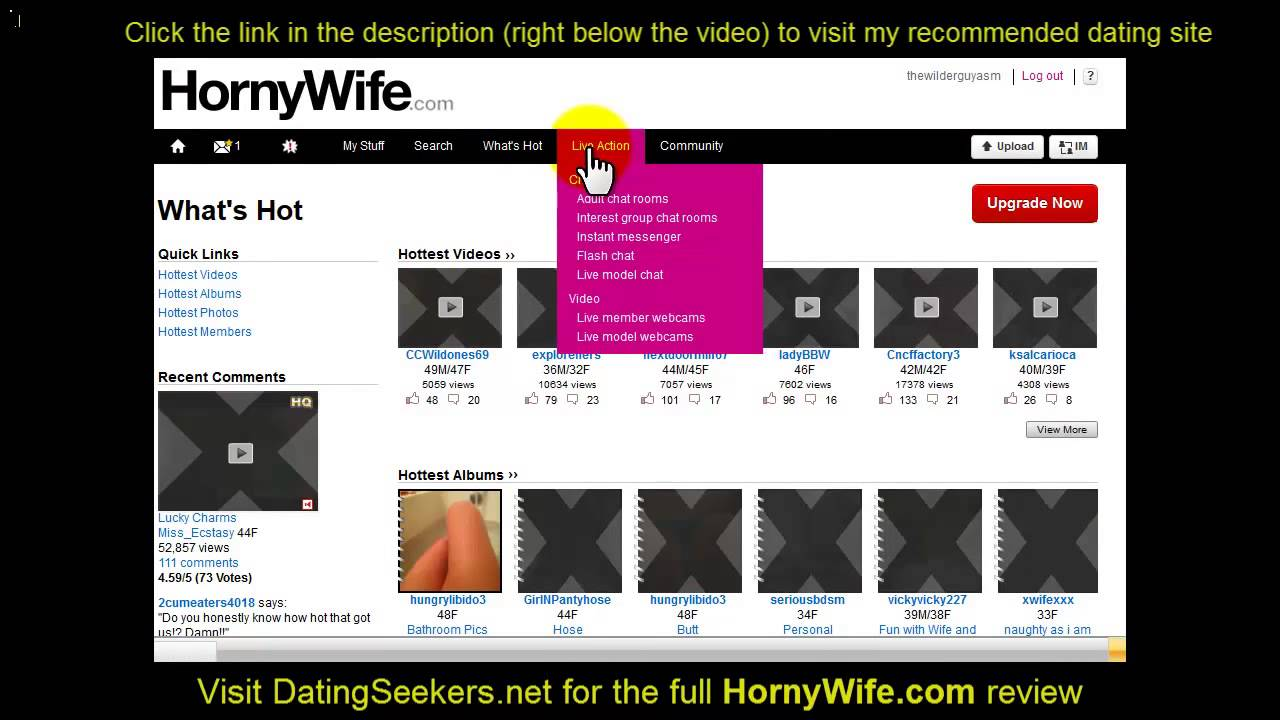 Hornywife Com Reviewed Check Out This Video Review Learn If Hornywife Com Is A Scam Or Legitimate