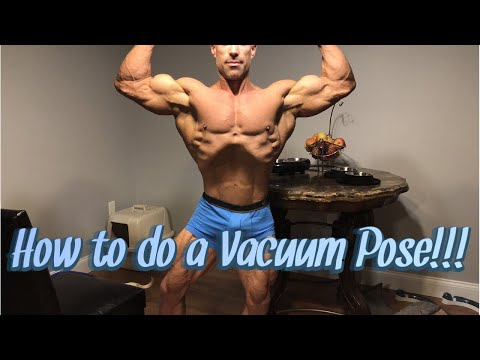 How to Execute the Vacuum Pose for Classic Physique (Explanation and Posing Demo)!!!