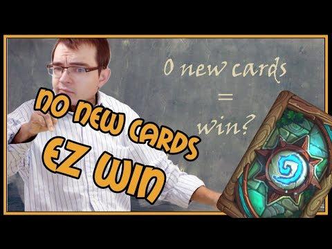 0 new cards = op deck?   Rastakhan's Rumble   Hearthstone