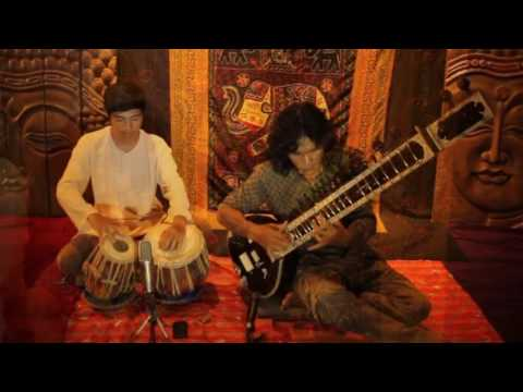 Cover Lagu classical indian music (Sitar and Tabla) STAFABAND