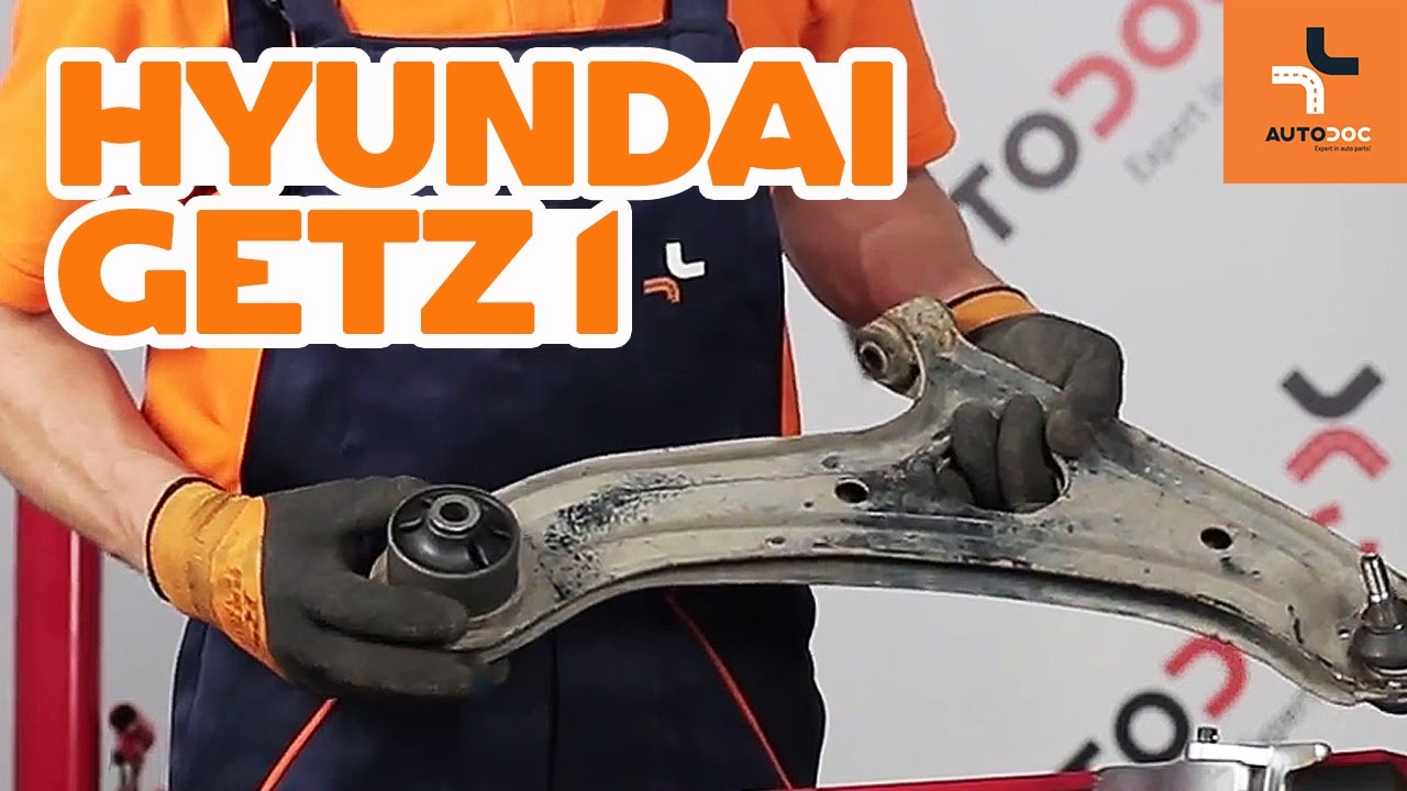 How To Replace Front Arm Bushes On Hyundai Getz 1