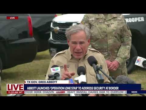 Border Crisis: Texas Governor Greg Abbott slams Biden over illegal immigration policy