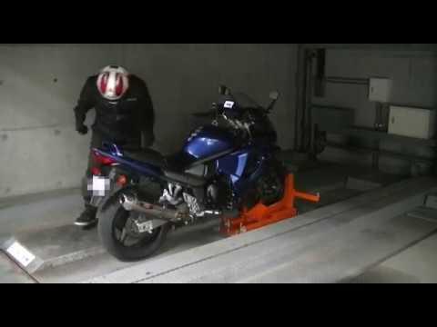 大阪市旭区赤川[地下ピット] 月極バイク駐車場 - YouTube