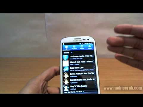Samsung Galaxy S III (S 3) Music, Video Player - Video