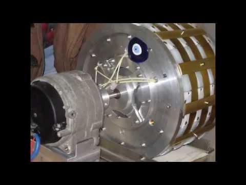 Muammer Yildiz Magnet Motor PROTOTYPES 2014