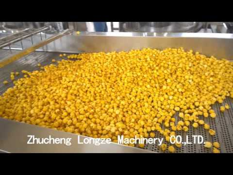 Automatic industrial commercial popcorn machine