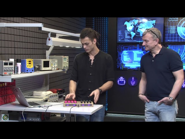 Max DetaL' aka Onminor в гостях у Олега, разговор о MIDI контроллерах