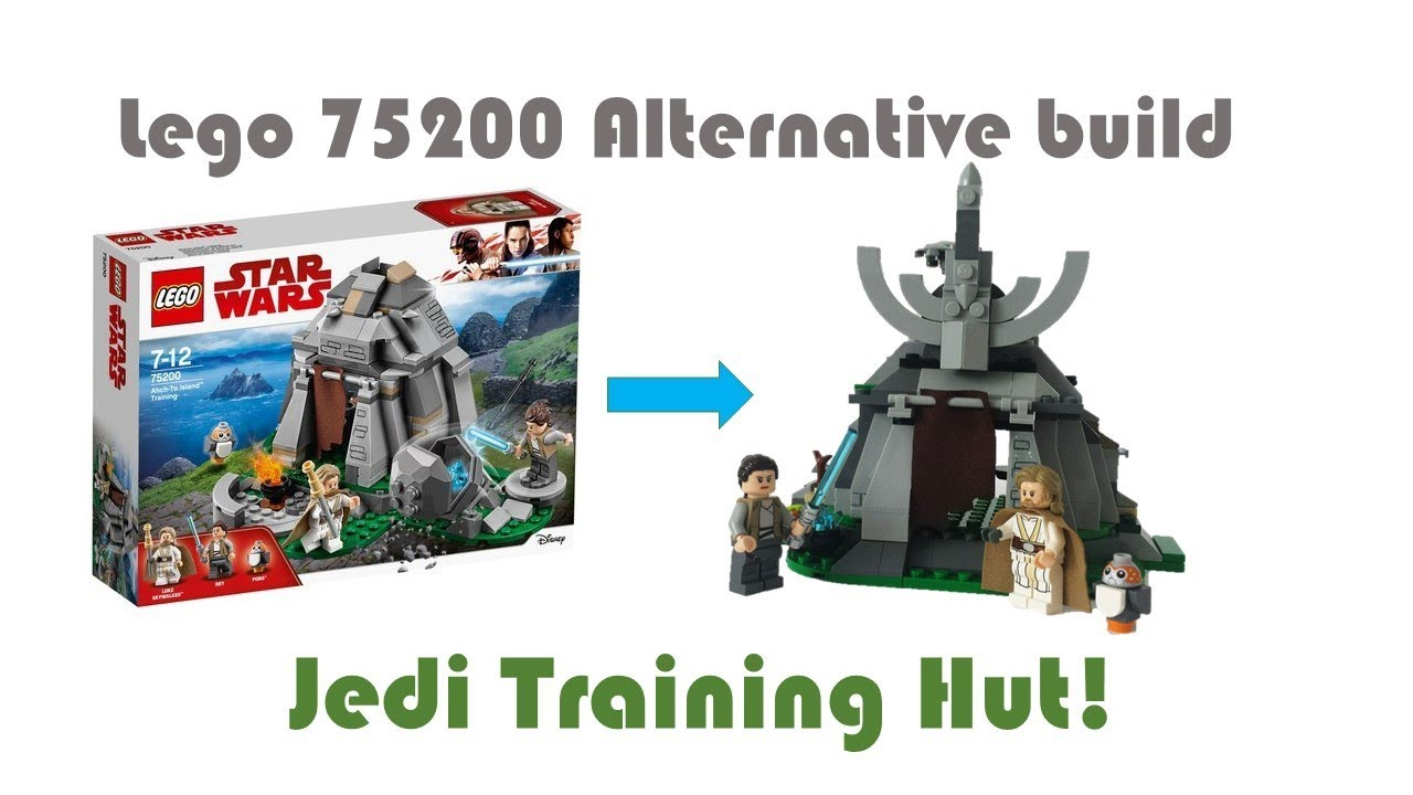 Lego Star Wars 75200 Alternative Build Jedi Training Hut